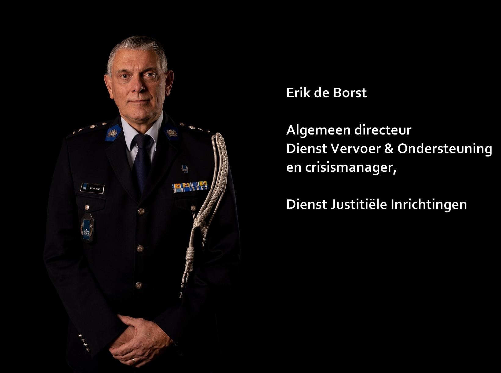 Erik de Borst - Dienst Justitiële Inrichtingen