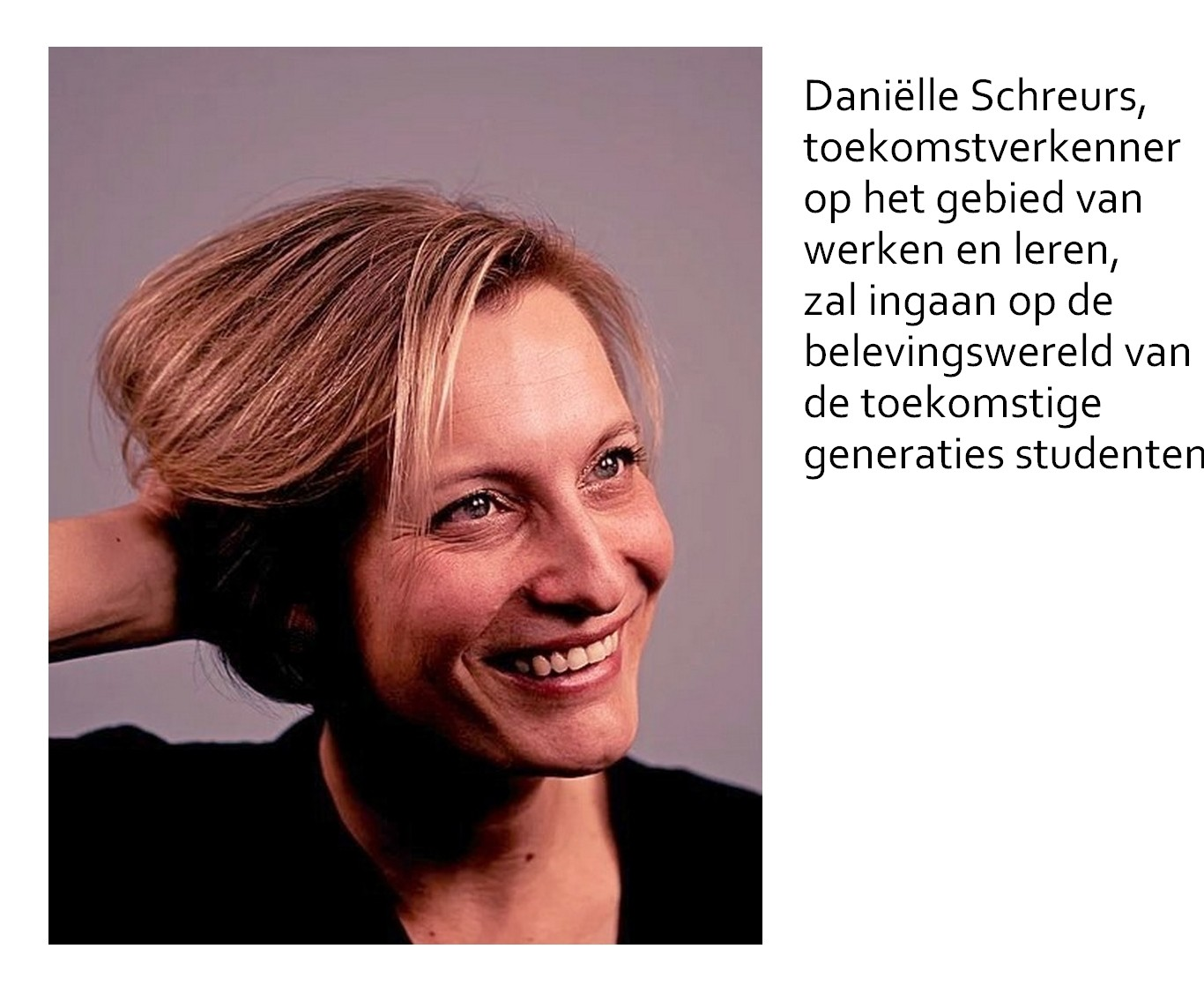 Daniëlle Schreurs, trendwatcher werken en leren