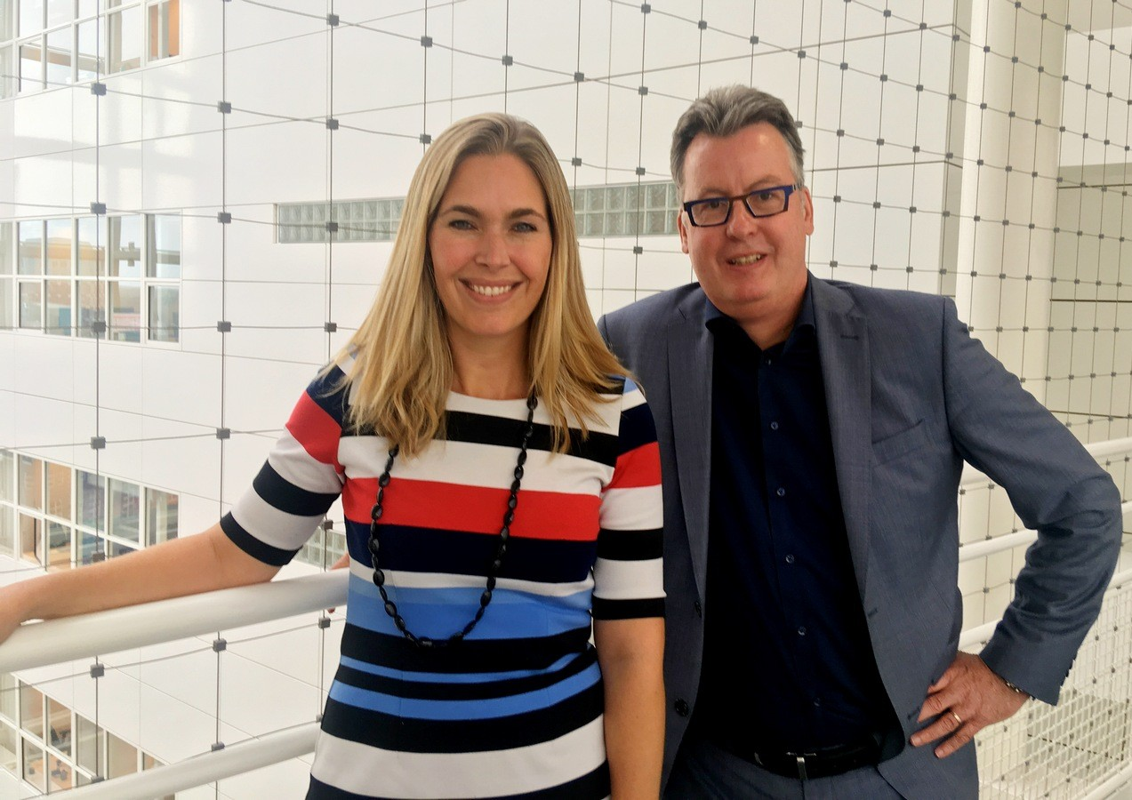 Janine van Niel en Marc Dortu