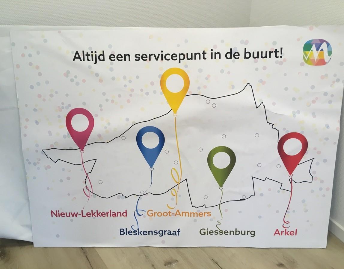 foto Servicepunten gemeente Molenlanden